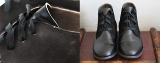 black leather esska ankle boots smart clean